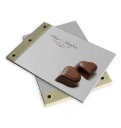 Livre d'or mariage chocolat BF