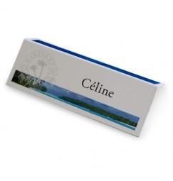 Place card caribbean beach