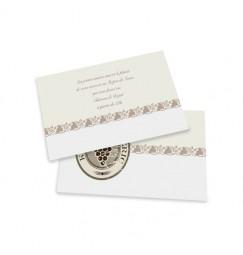 Carton d'invitation vino