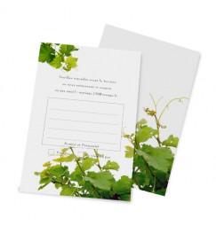 Carton réponse la vigne