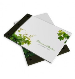 Wedding book vine