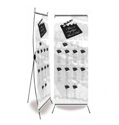Table plan banner corset cinéma