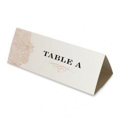 Table name vintage triptyque