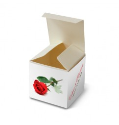 Wedding favour rose rayon