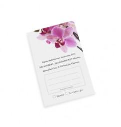 Carton réponse orchidée SW