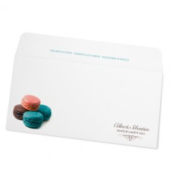 Wedding envelope macarons