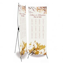 Table plan banner autumn