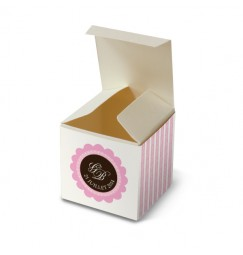 Wedding favour box corset gourmand