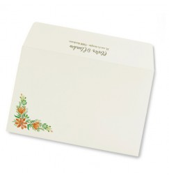 Wedding envelope country clover