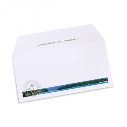 Wedding envelope caribbean beach