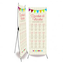 Table plan banner circus