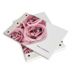 Wedding book rose wrap