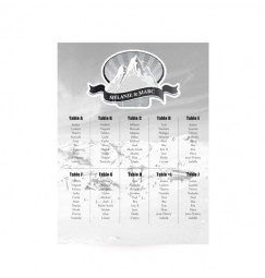 Table plan ski