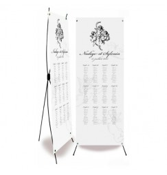 Table plan banner angel corset