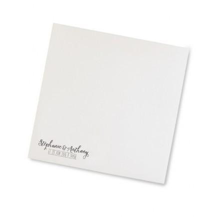 Wedding envelope vintage craft laser cut