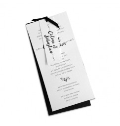 Wedding invitation love letter