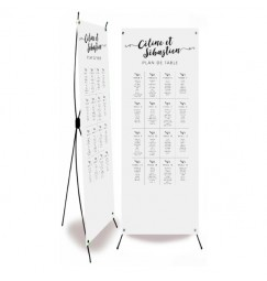 Table plan banner love letter