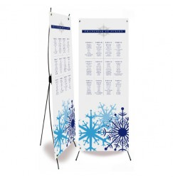 Plan de table mariage blue snow