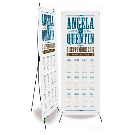 Table plan banner biarritz