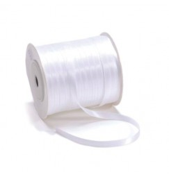 6mm white ribbon