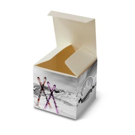 Wedding favour box ski