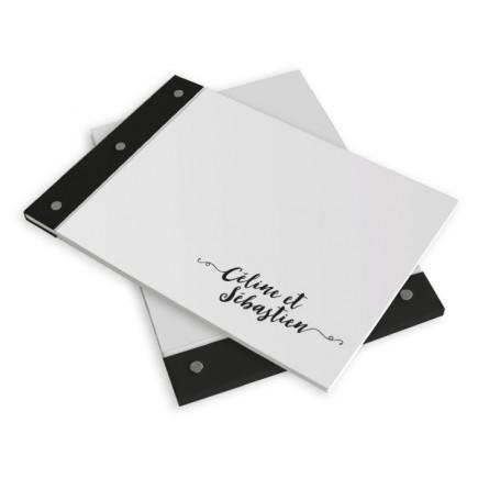 Wedding book love letter