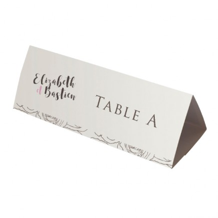 Table name grey rose flowers