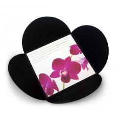Faire part mariage orchidée
