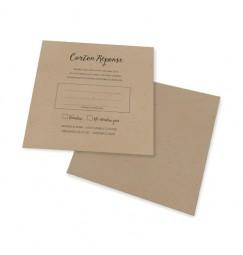 RSVP card vintage lace