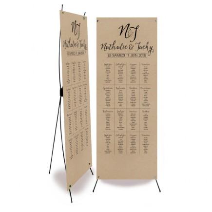 Plan de table vintage dentelle
