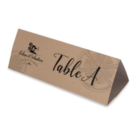 Table name cinema triptique