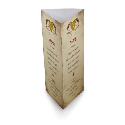 Table menu medieval