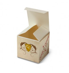 Wedding favour box medieval