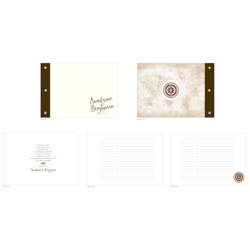 Livre D Or Mariage Voyage Pocket
