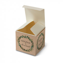 Wedding favour box Eucalyptus