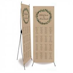 Plan de table mariage Eucalyptus