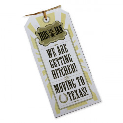 Faire part mariage texas cowboy