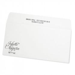 Wedding envelope kraft on kraft