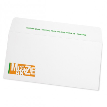 Birthday envelope roundhand